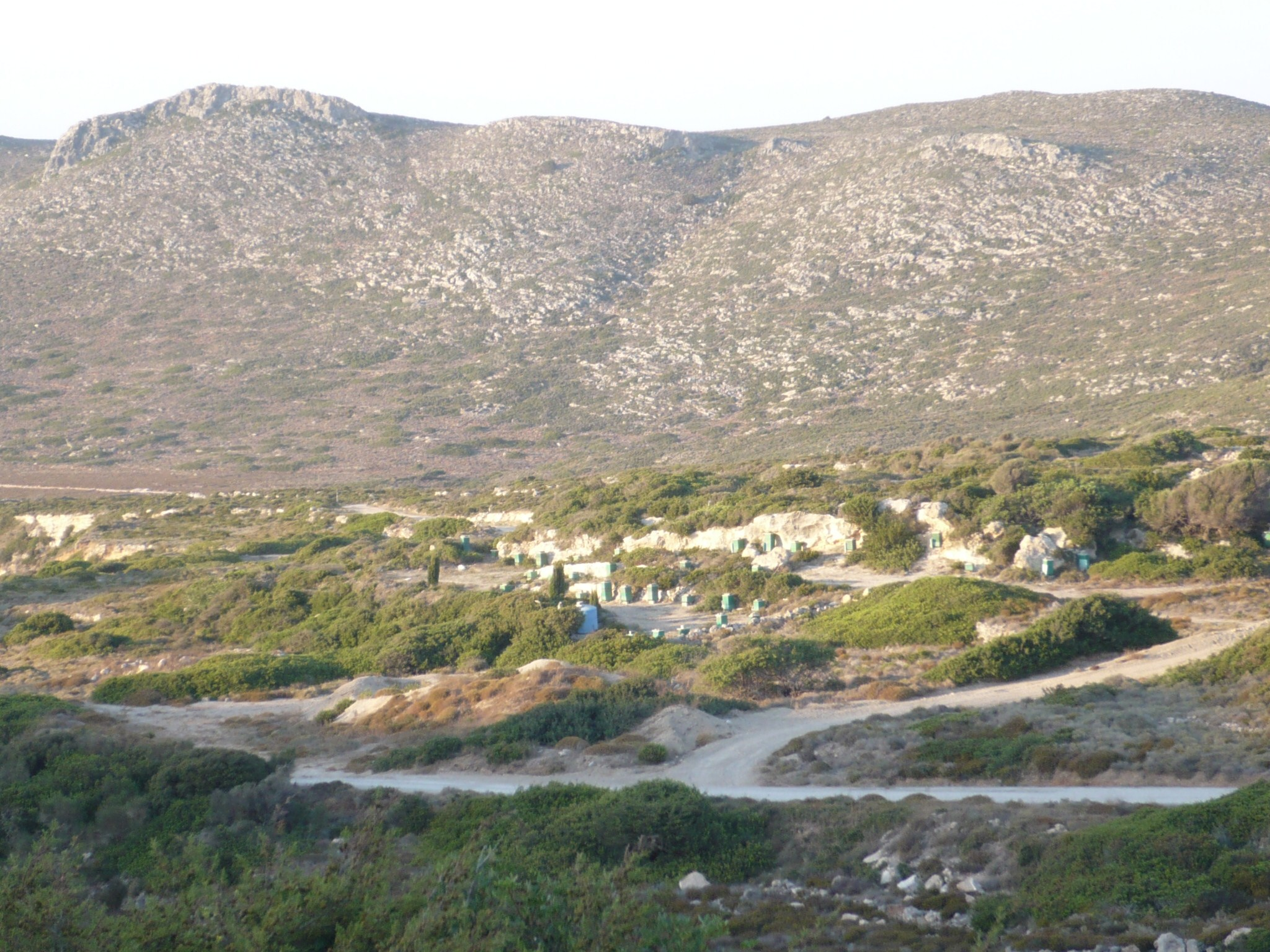 Rural community in the Greek Islands